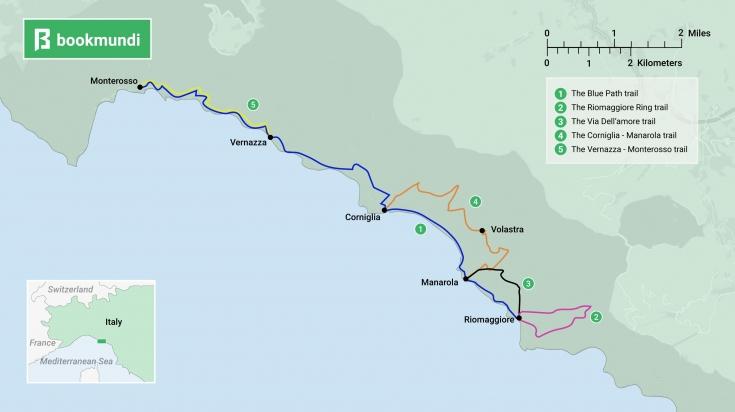 Cinque terre hiking, a must-take hiking trail in Italy ... on san gimignano map, aeolian islands map, siena map, la spezia map, liguria map, manarola map, vernazza map, venice map, monterosso al mare, italy map, florence map, italian riviera map, san gimignano, lucca map, pisa map, la spezia, capri map, amalfi coast map, tuscany map, genoa map, italian riviera, positano map, portofino map, pietrasanta map,