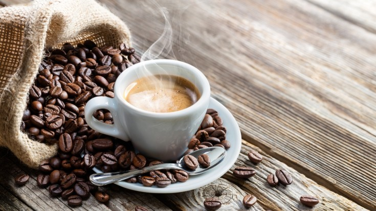 Famous Italian food: coffee secures its mention on our top 10 list.