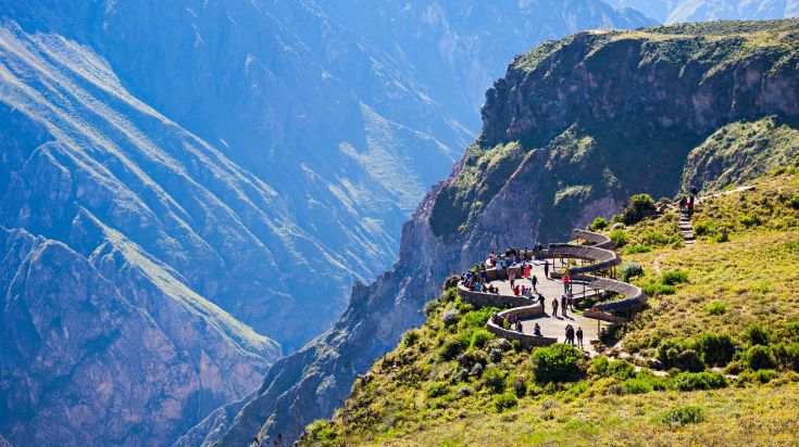 Colca Canyon is a popular activity amongst tourists in Peru