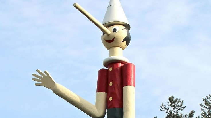 Pinocchio park is an ideal place for a family visit in Italy.