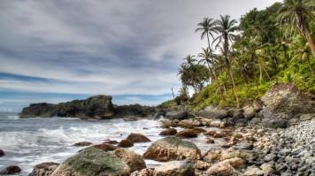 Capurgana beach in Colombia