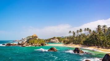El Cabo San Juan in Colombia