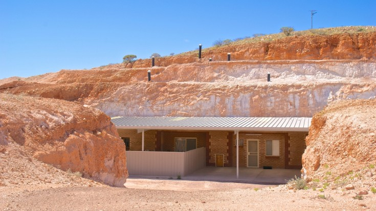 On the way from Alice Springs to Uluru, take a detour to Coober Pedy.