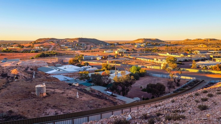 This Aussie outback town is famous for being mostly built underground