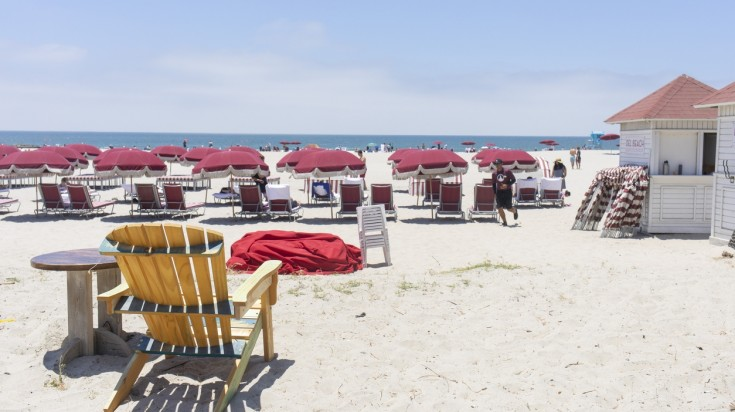 Coronado beach in San Diego is one of the best beaches in the continent