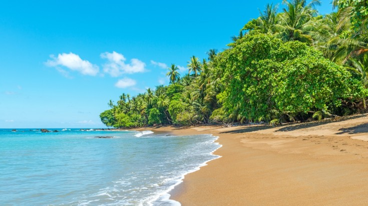 Tamarindo beach is a great stop for a 7-day itinerary in Costa Rica