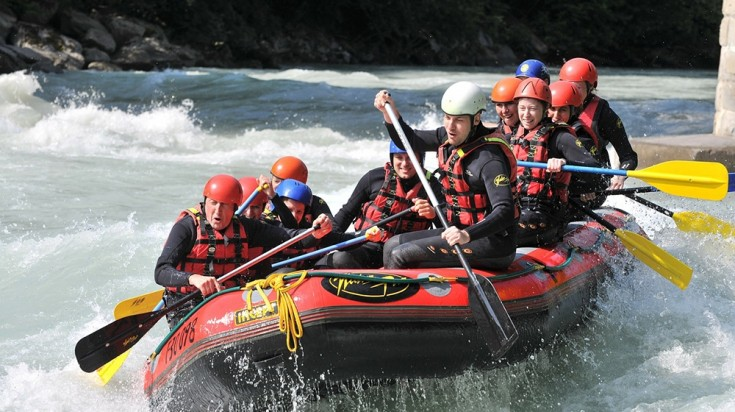Costa Rica itinerary can include white water rafting
