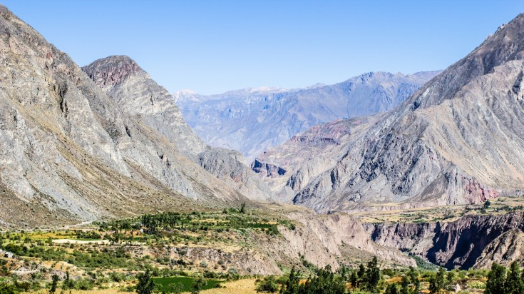Cotahuasi Canyon, the world's fourth deepest canyon