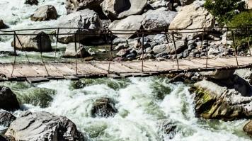 River running at Cotahuasi Canyon