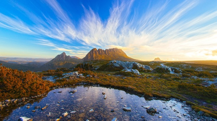 Cradle Mountain is one of the best points of interest in Tasmania.