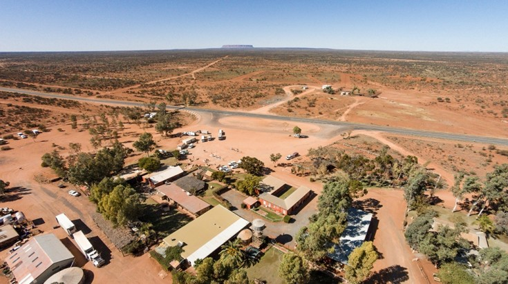 Curtin Springs Wayside Inn is an affordable place to stay near Uluru
