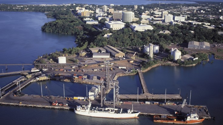 The capital of Australia's Northern Territory, Darwin is a laid-back city