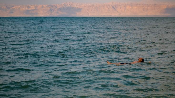 Dead sea is salt lake in Jordan.