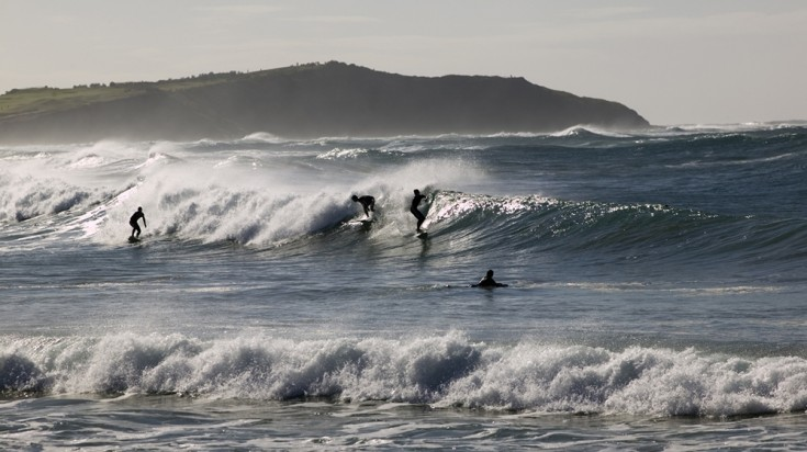 Northern beaches of Sydney spans 20kms, which means endless waves.