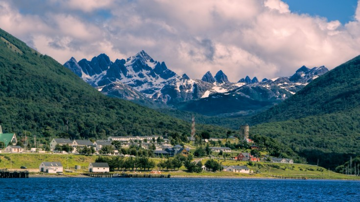 Puerto Williams in Navarino Island
