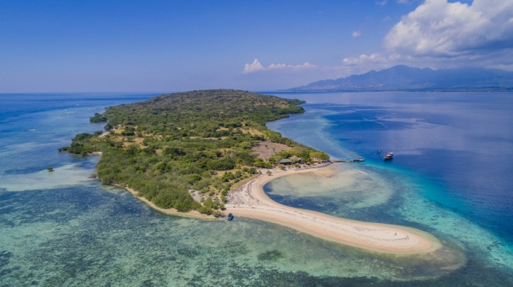 One of the best places to go diving in Bali is on Menjangan Island