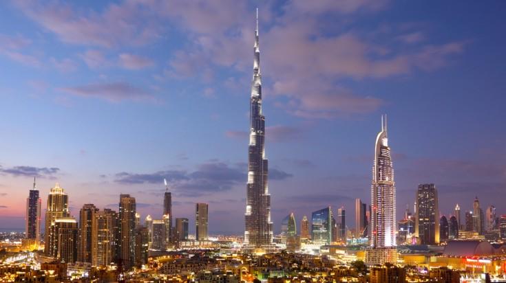 dubai things to do burj khalifa skyline