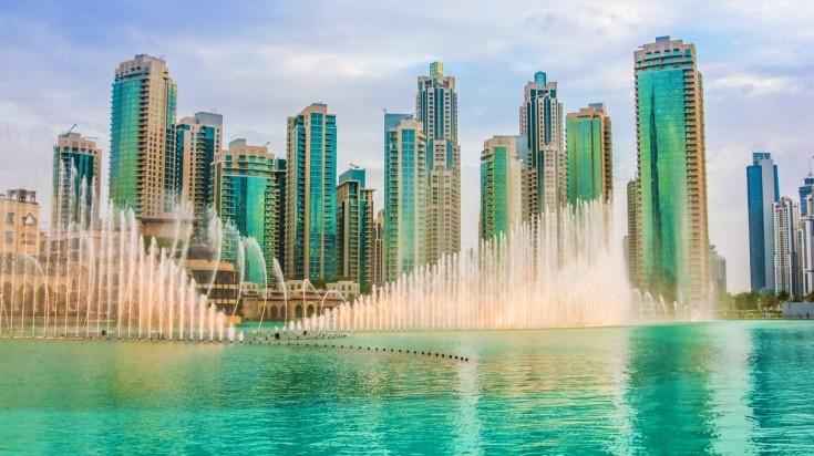 Dubai fountain Things to do in Dubai