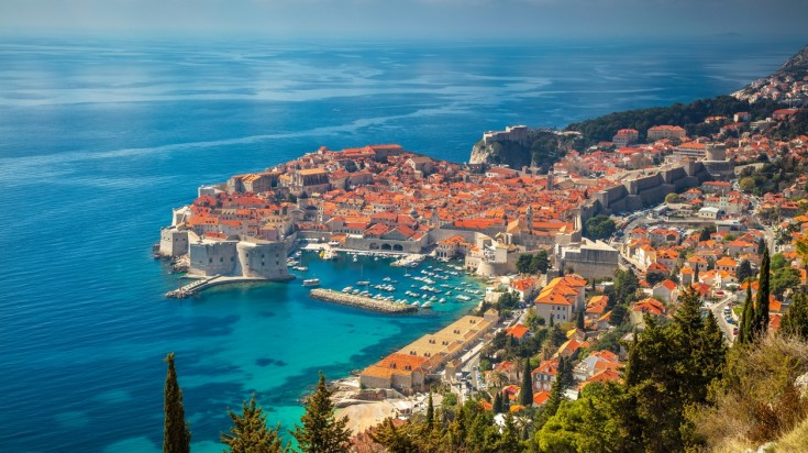 Dubrovnik in Croatia, Europe is a great medieval destination to go to.