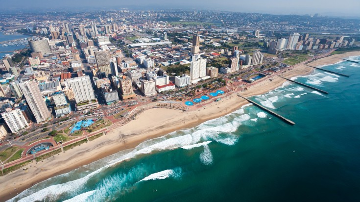 Located in South Africa, Durban is one of the busiest port.