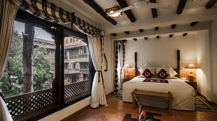 Dwarika Hotel Room