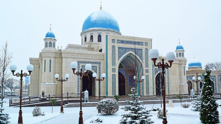 Dzhuma Mosque in Tashkent, Uzbekistan