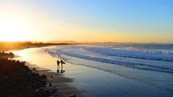 East coast Australia Byron Bay