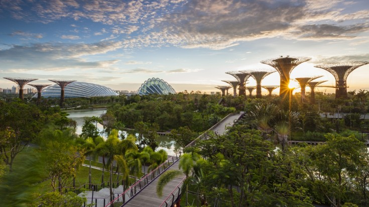 Singapore is one of the best eco-friendly travel destination
