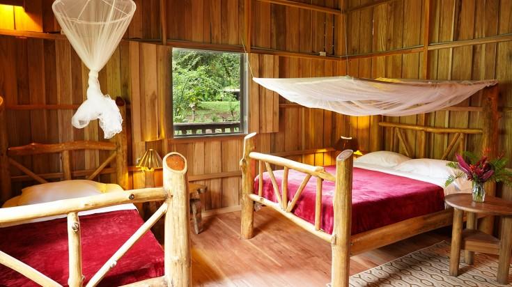 Eco lodges in Costa Rica La Carolina