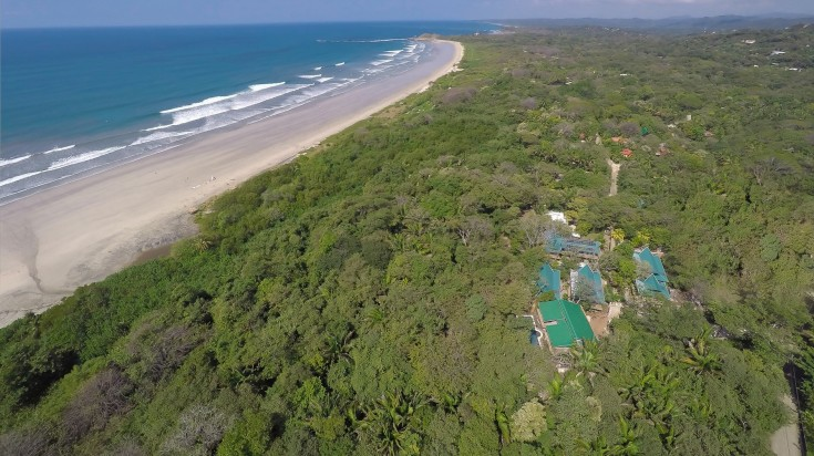 Eco lodge in Costa Rica Olas Verdes area