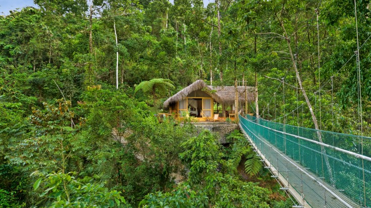 Eco lodges in Costa Rica Pacuare Lodge