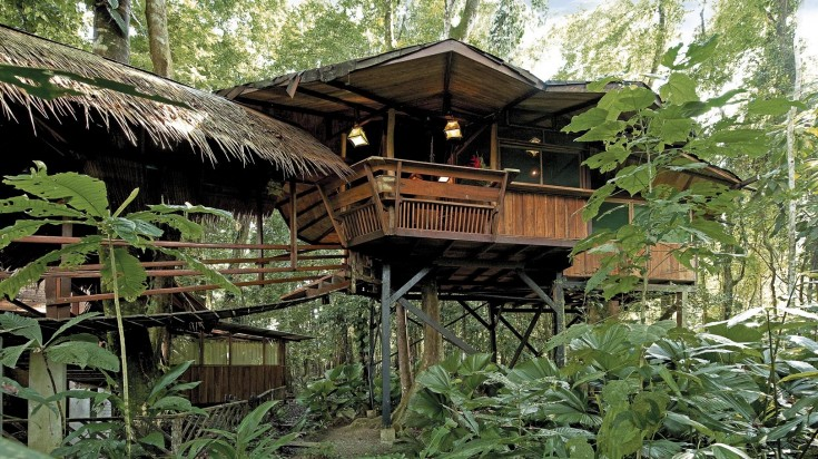 Eco lodges in Costa Rica Tree House Lodge