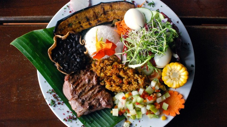 Eco tourism in Costa Rica Food
