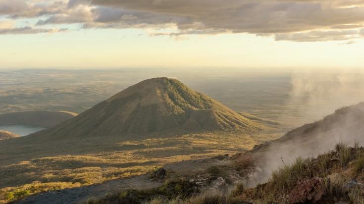 El Hoyo is one of the volcanic complex of Nicaragua