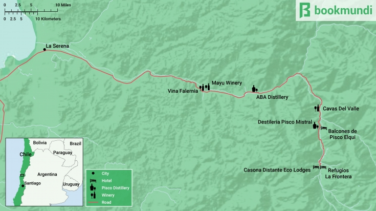 Elqui Valley Map