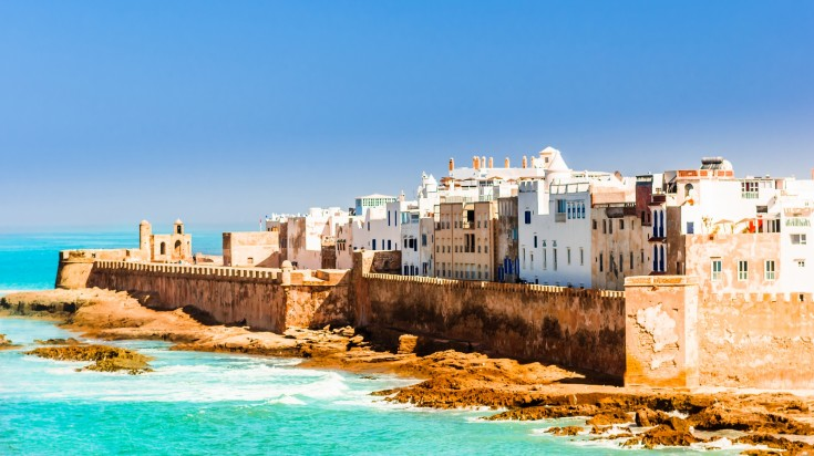 Located in Western Morocco, Essaouira is a city on the Atlantic coast.