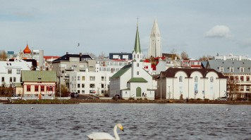 Reykjavik is known for its natural surrounding.
