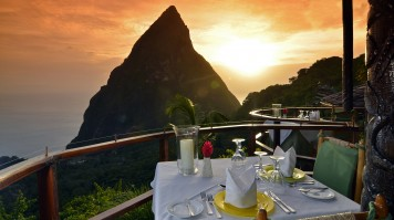Exclusive hotels ladera dinner