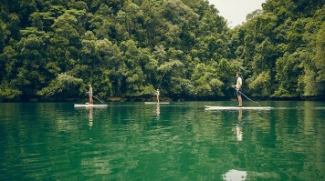 exclusive hotels nay palad paddleboard