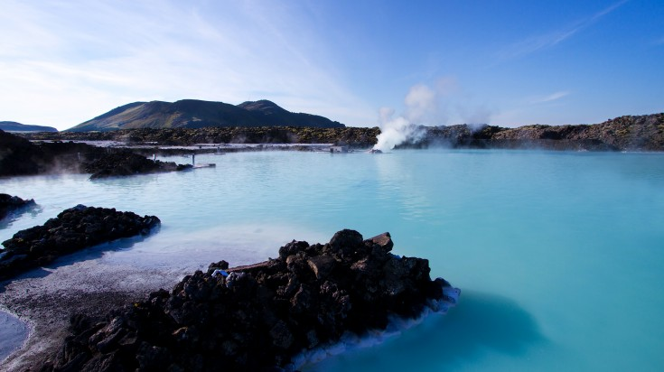Blue lagoon one of the hottest spots in Iceland