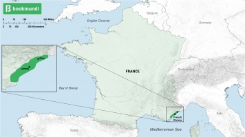 Map of French Riviera