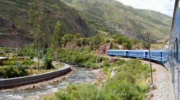 From Lima to Machu Picchu on a train