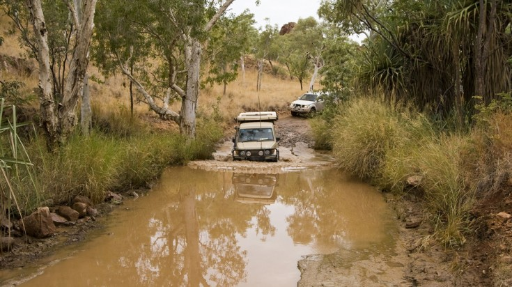 Purnululu NP has diverse terrains and a FWD is a great way to see it all.
