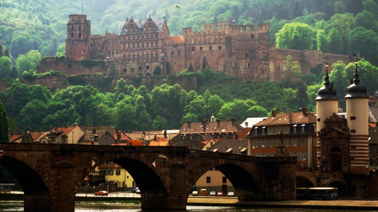 Heidelberg castle is one of the most visit tourist attractions in Germany