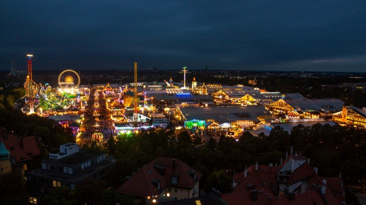 Oktoberfest is one of the most visited tourist attractions in Germany