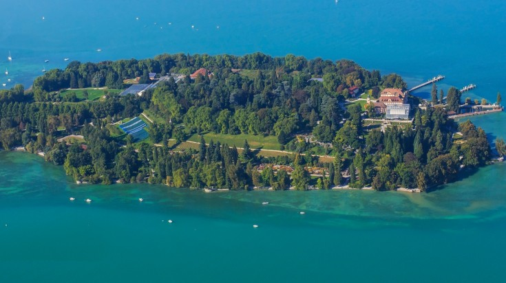 Mainau is one of the most visited tourist attractions in Germany