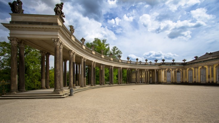 Sanssouci Palace is one of the most visited tourist attractions in Germany