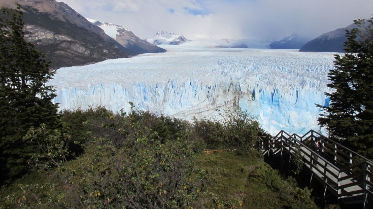 Perito Moreno Glacier seen from Los Glaciares National Park