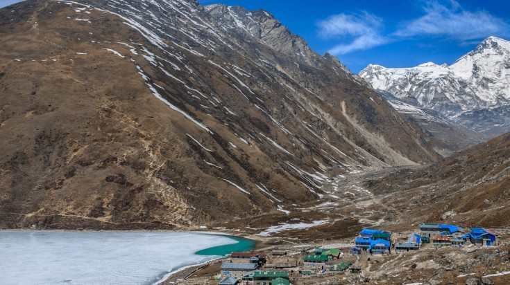 Trekking Gokyo Lake in the Everest region is once in a lifetime experience.