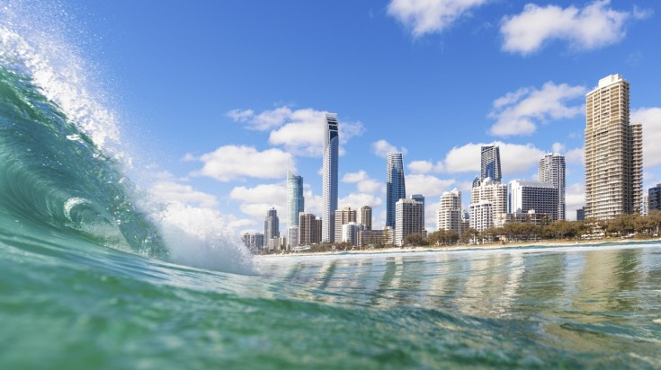 Gold Coast is the surfer's paradise in Australia